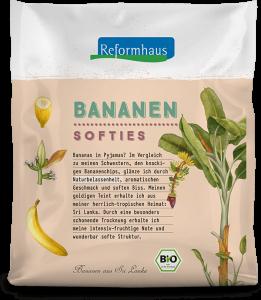 Bananen Softies : Reformhaus Produkt Packshot