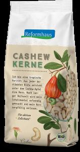 Bio Cashewkerne : Reformhaus Produkt Packshot