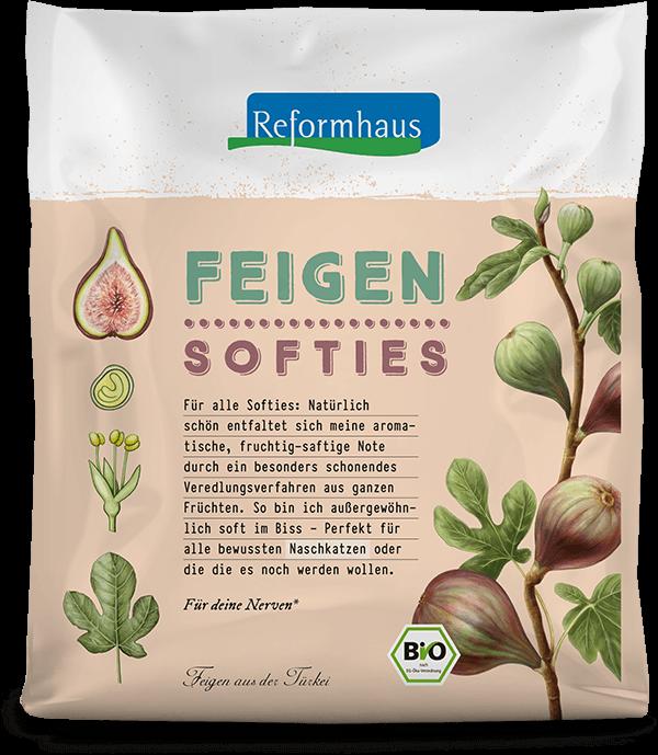 Feigen Softies : Reformhaus Produkt Packshot