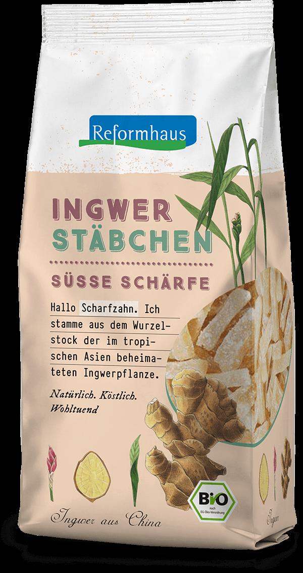 Ingwer Stäbchen