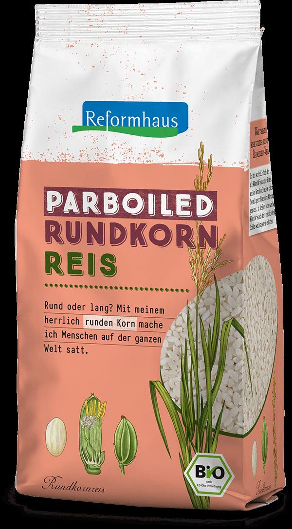 Parboiled Rundkornreis