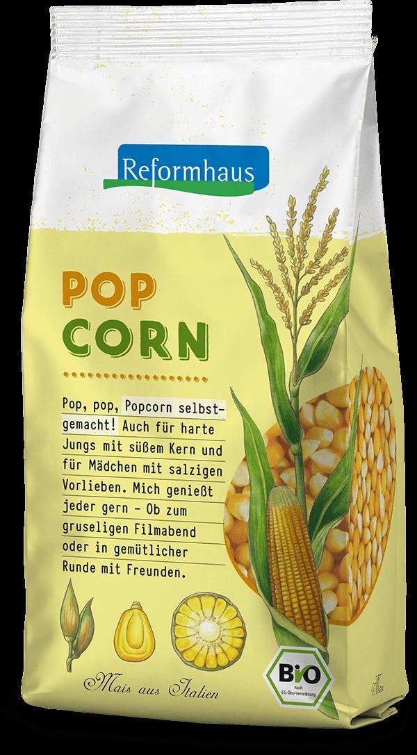 Popcorn : Reformhaus Produkt Packshot