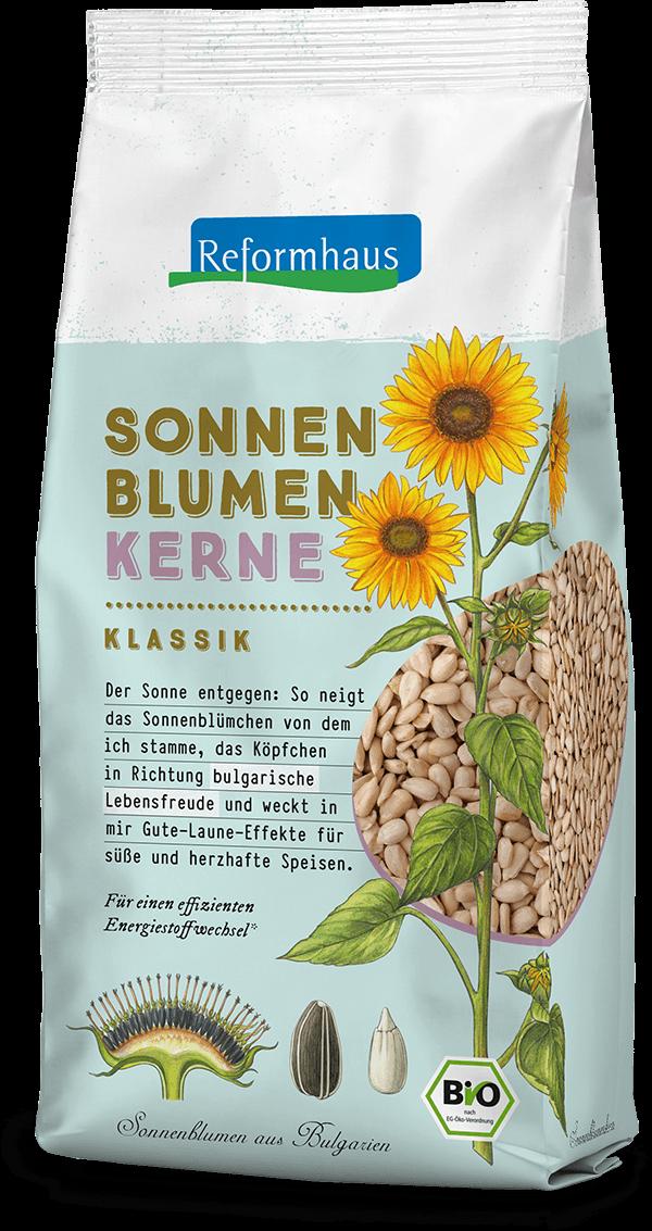 Sonnenblumenkerne Klassik : Reformhaus Produkt Packshot